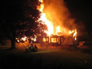 Virginia arson charge