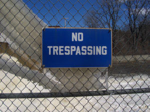 posting-no-trespassing-signs-on-anothers-property-without-permission-is-a-criminal-misdemeanor